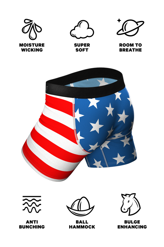 The Stars & Stripes | American Flag Boxer & Cheeky Underwear Pack