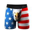 The Mascot | American Flag Ball Hammock Pouch Underwear