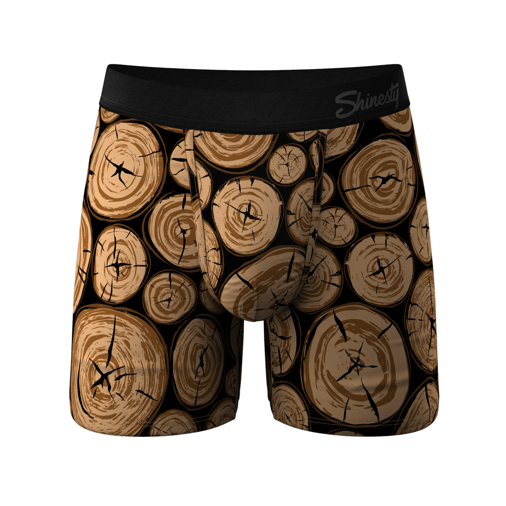 The Morning Wood | Wood Pile Ball Hammock Boxers