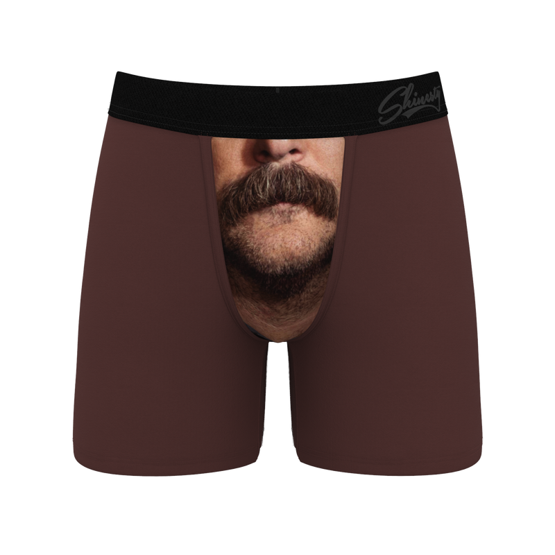 Mustache Ride Ball Hammock Boxers