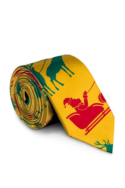 The Mustard Sleighs | Christmas Tie