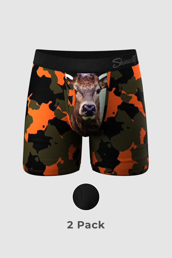 The Name is Buck | Ball Hammock Pouch Underwear With Fly 2 Pack