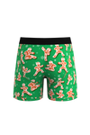 The Ninjabread Nuts | Green Gingerbread Ball Hammock Pouch Underwear