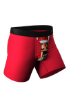 men's christmas nutcracker underwear with fly