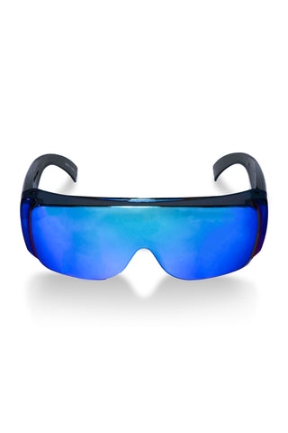 The O.G. Grandma Sunglasses - Cold as Ice Blue