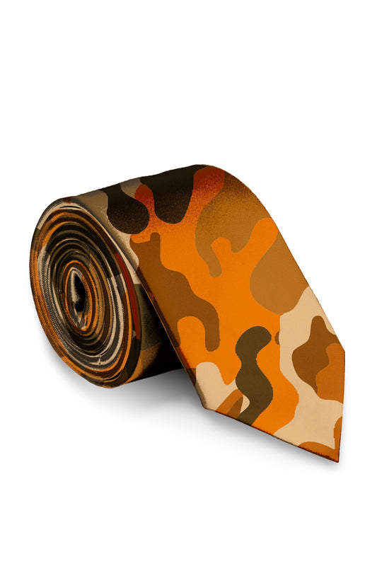 The Hunt Good Times | Blaze Camo Tie