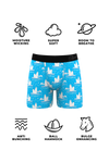 men's moisture wicking ball hammock boxers