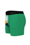 Gold coins rainbow boxers
