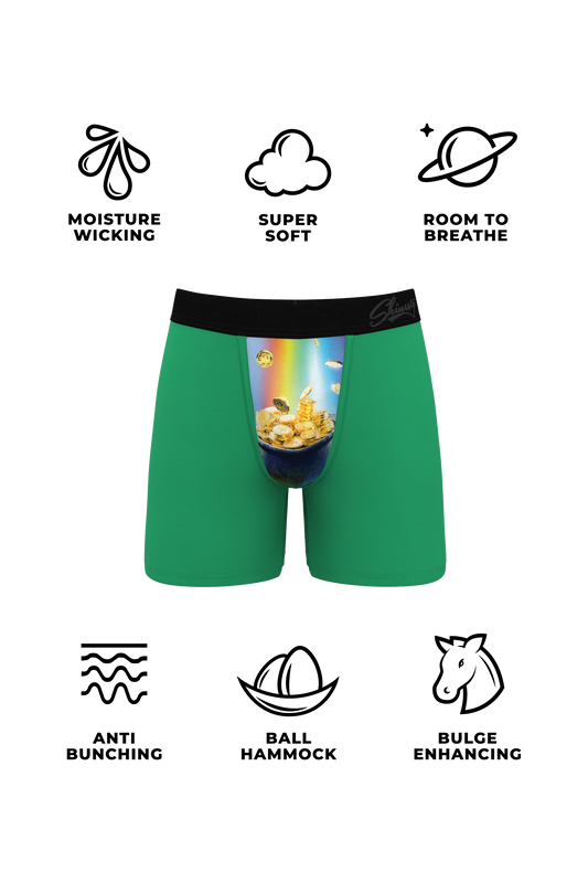 Pot of gold ball hammock boxers