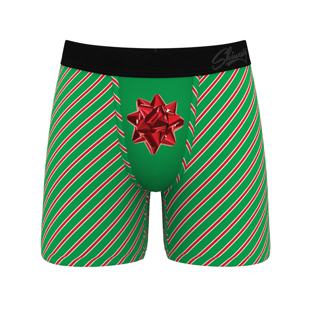 The Unwrap Me's | Christmas Present Ball Hammock Boxer Briefs