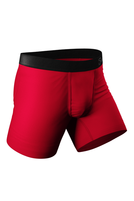 The Red Dong Effect | Red Ball Hammock Pouch Underwear