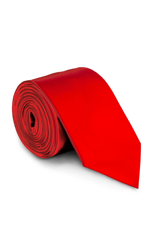 shinesty neck tie red