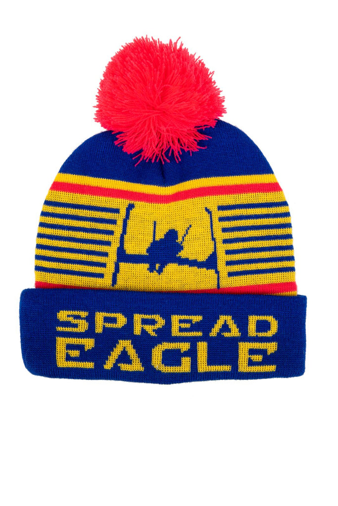 The Spread Eagle | Retro Ski Beanie