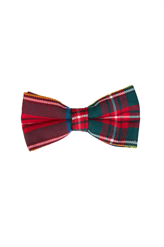 The Rockefeller | Red and Green Plaid Bow Tie
