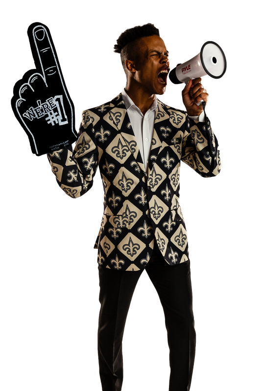 The New Orleans Saints Nfl Gameday Blazer