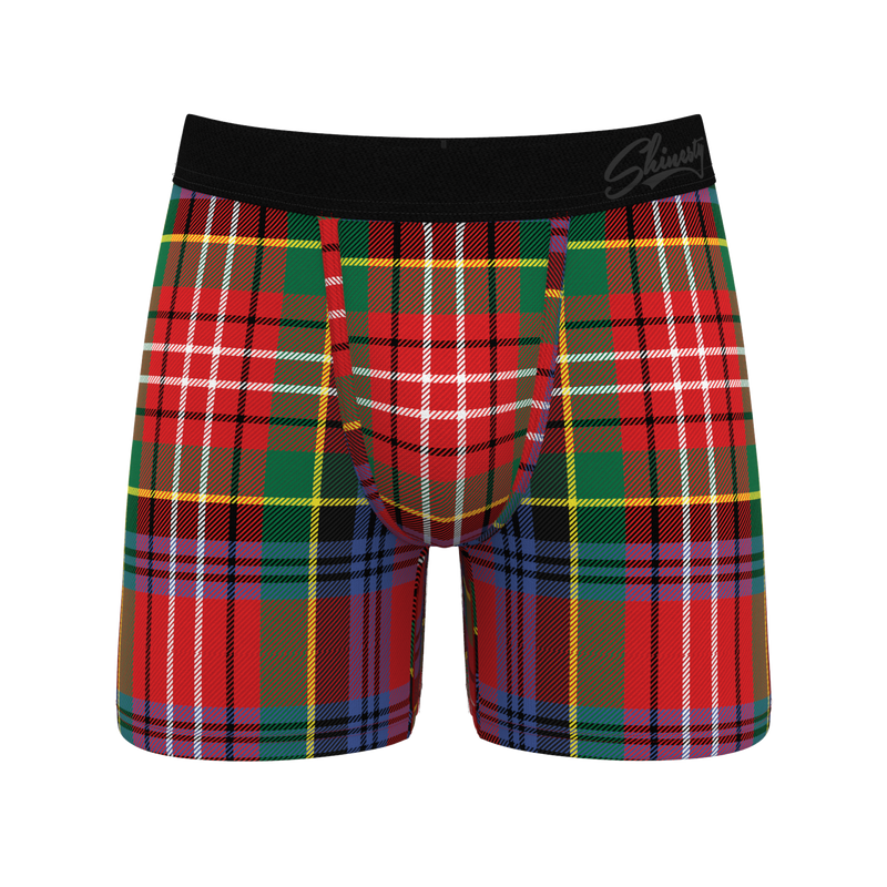 classy red boxers for men
