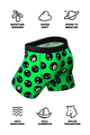 pouch underwear with 8 ball