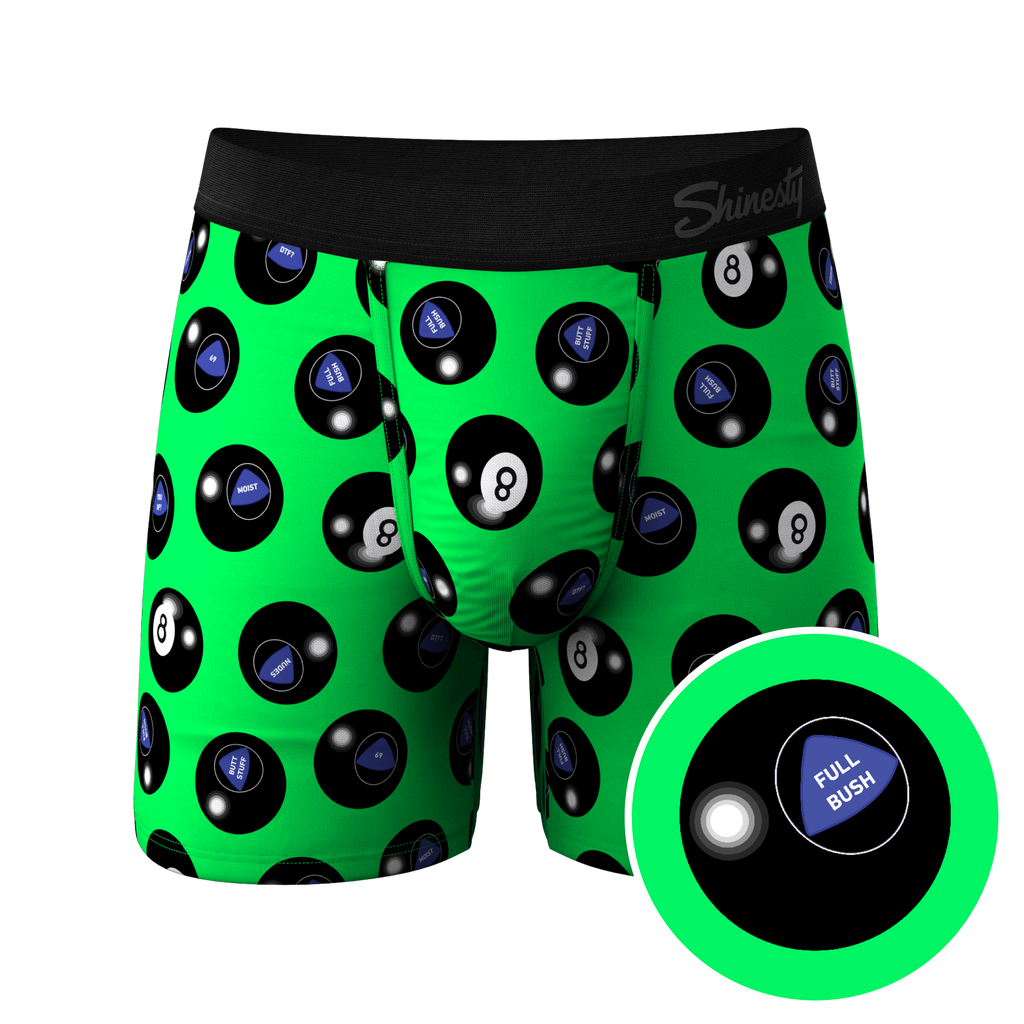 The Shake And Wait | Magic 8 Ball Hammock Pouch Underwear