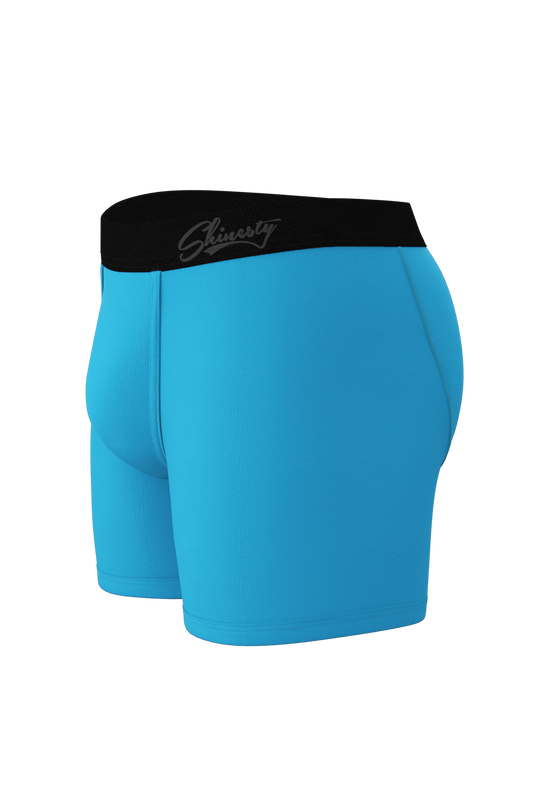 Blue boxers for men
