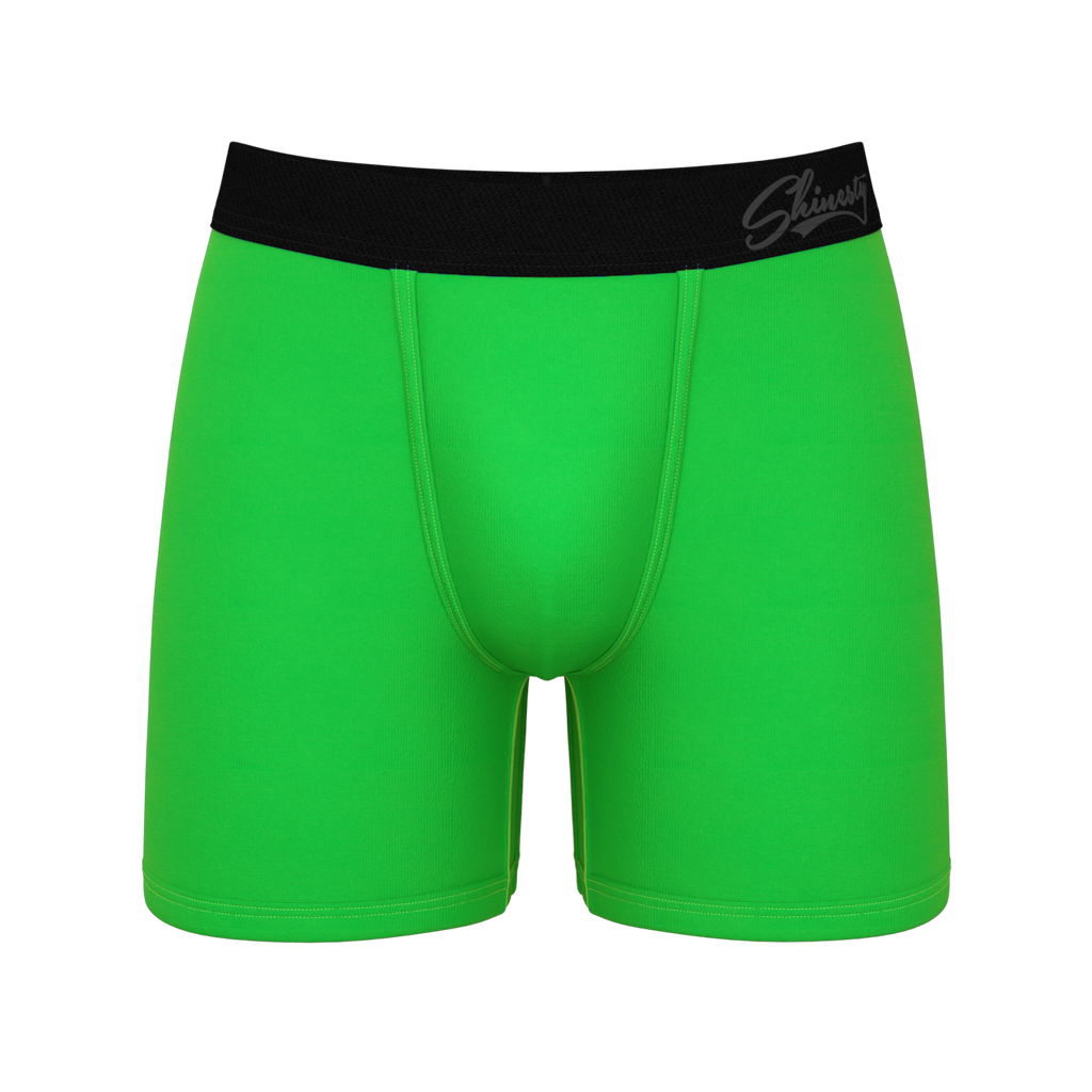 The Grass Is Greener | Green Ball Hammock Boxer Brief