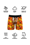 Moisture wicking squirrel boxers