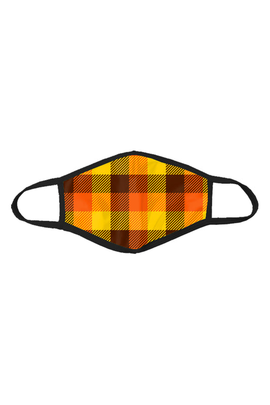 That 70s | Thanksgiving Plaid Mask