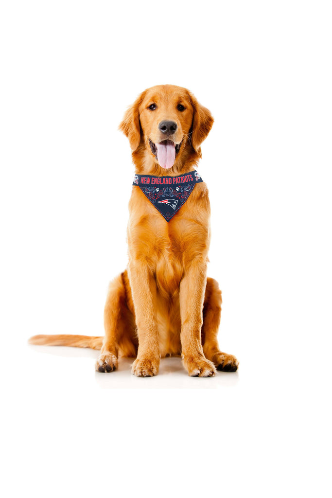 The New England Patriots | Pet Bandana