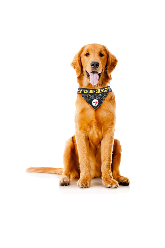 The Pittsburgh Steelers | Pet Bandana