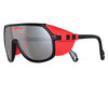 Pit Viper red and black sunglasses