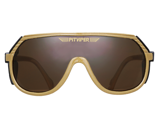 The Reno Grand Prix | Gold Pit Viper Sunglasses