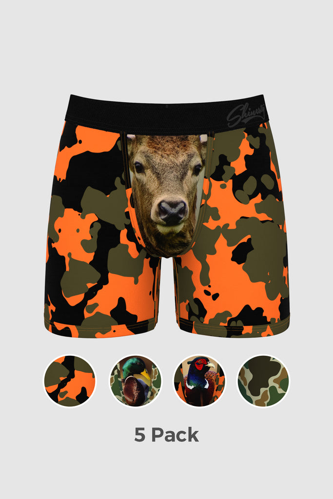 The Thrill of the Hunt | Hunting Ball Hammock Boxer 5 Pack