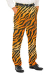 Men's Tiger Print Suit Pants