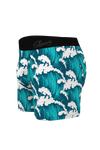Crashing waves boxers for men