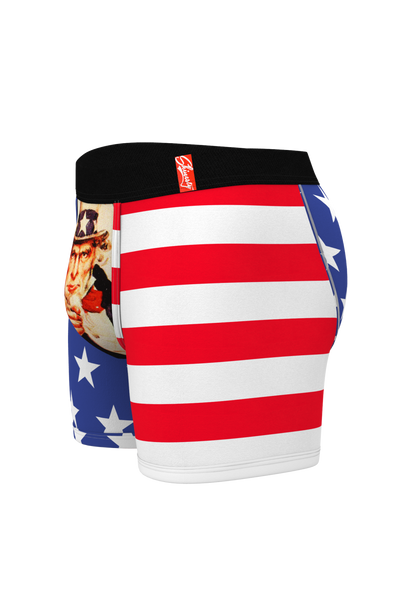 ball pouch underwear mens boxers USA