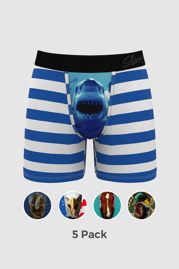 The Zoo Tycoon | Ball Hammock Boxer Brief 5 Pack