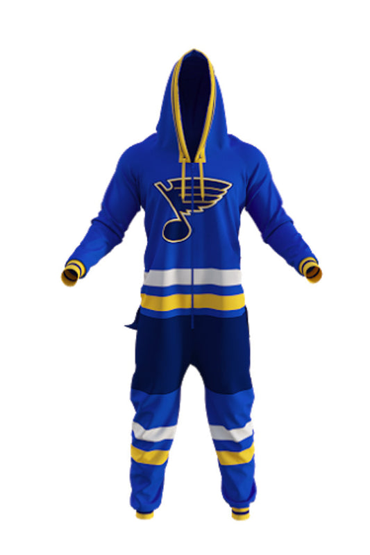 Saint Louis Blues Onesie For Adults