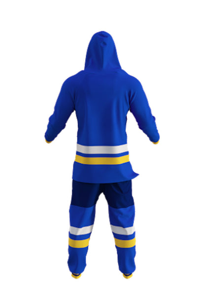 Saint Louis Blues Onesie Rear View - Shinesty