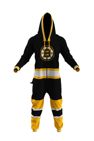 Boston Bruins Onesie For Adults