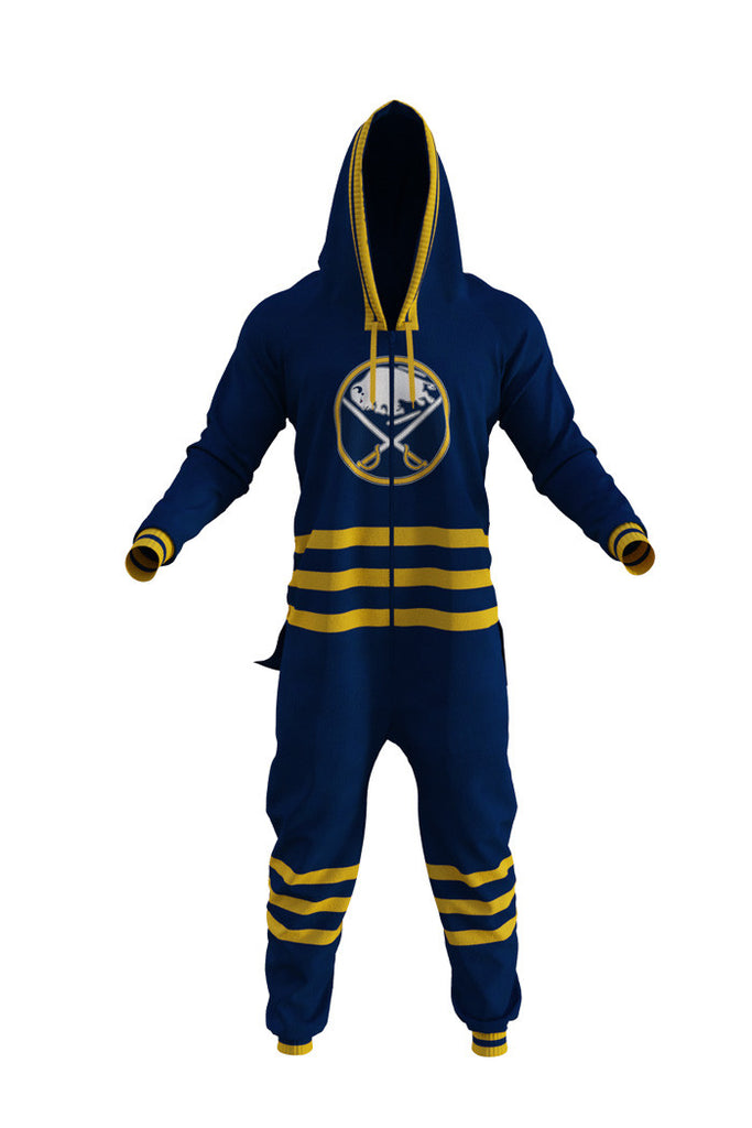 Buffalo Sabres NHL Onesie For Adults - Shinesty