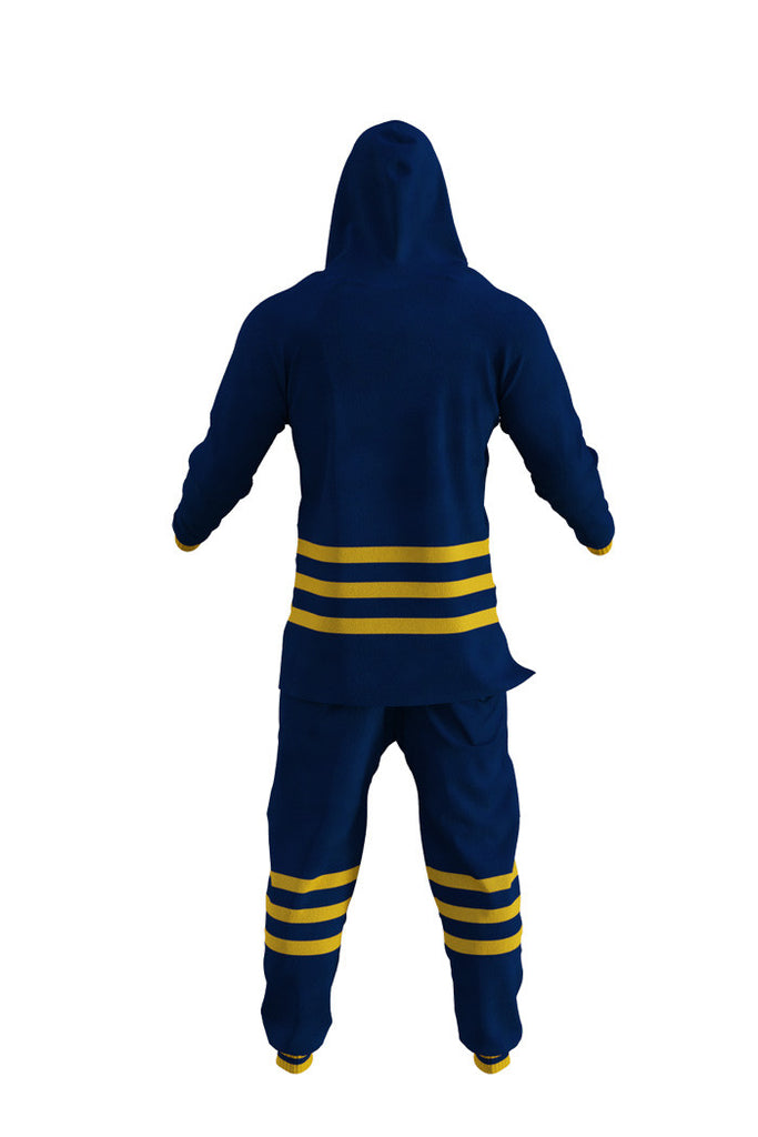Buffalo Sabres NHL Onesie Rear View - Shinesty