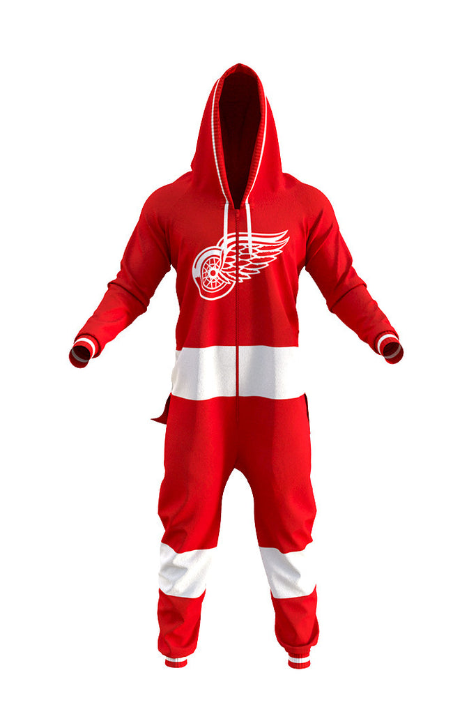 The Detroit Redwings Onesie For Adults