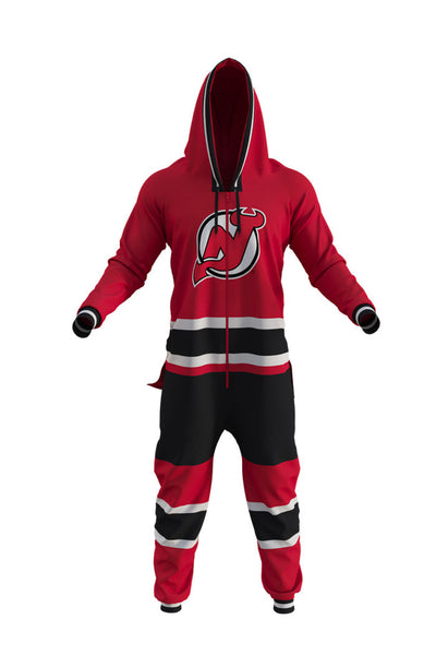 NJ Devils NHL Onesie - Shinesty