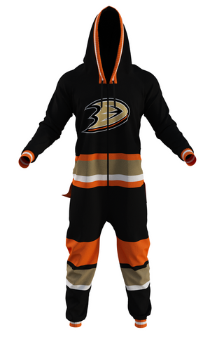 men's anaheim ducks onesie