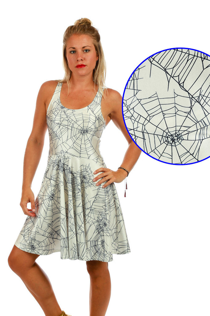 The Spiderwebs Halloween Costume Dress