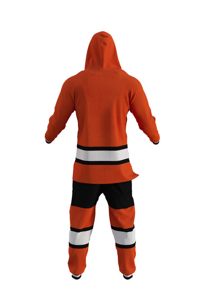 Philadelphia Flyers NHL Onesie Rear View - Shinesty