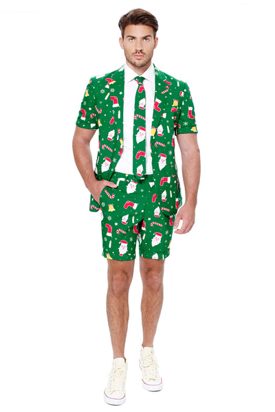 Summer Suit Ugly Christmas Sweater Suit Print