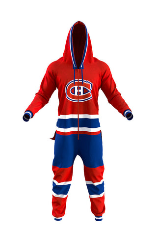 The Montreal Canadiens Official NHL Onesie - Shinesty