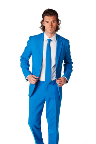 Mens Royal Blue Party Suit