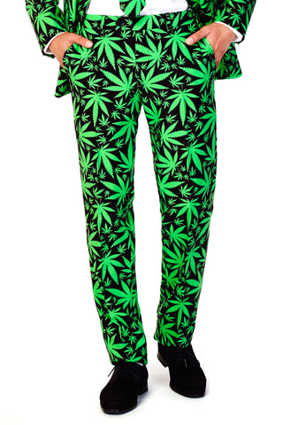 Reefer Madness Weed Leaf Pants - Shinesty