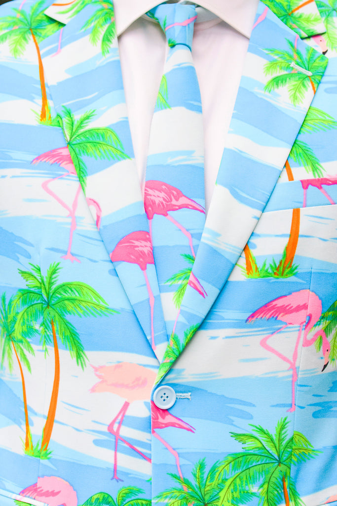The Grand Cayman Party Blazer and Tie by Opposuits
